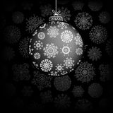 De groetkaart van Kerstmis. + EPS8 Stock Foto