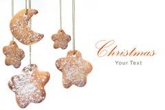 De groetkaart van Kerstmis van de kunst Stock Afbeelding
