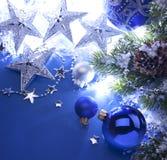 De groetkaart van Kerstmis van de kunst royalty-vrije stock fotografie