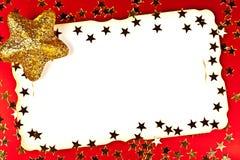 De groetkaarten van Kerstmis. Stock Afbeeldingen