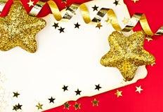 De groetkaarten van Kerstmis. Royalty-vrije Stock Foto