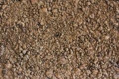De grond is een natuurlijke kleimineralen is natuurlijk vele speciessuita Royalty-vrije Stock Foto