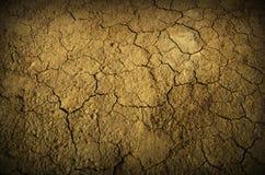 De grond van de woestijn Stock Foto's