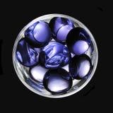 De grond van het kristal Stock Afbeelding