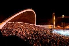 De Gronden van het Festival van het Lied van Tallinn Stock Foto's