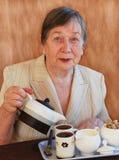 De grootmoeder royalty-vrije stock foto