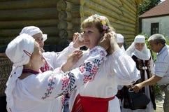 De Grootmoeder van Saratov Stock Afbeelding