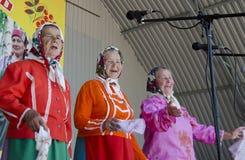 De Grootmoeder van Saratov Royalty-vrije Stock Afbeeldingen