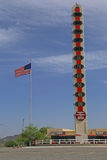 De grootste thermometer van de wereld Royalty-vrije Stock Foto