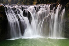 De grootste waterval in Taipeh, Taiwan Royalty-vrije Stock Fotografie