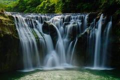 De grootste waterval in Taiwan Stock Afbeelding