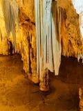 De grot Grotta Di Nettuno, Capo Caccia, Alghero, Sardinige, Italië van Neptunus ` s stock afbeeldingen