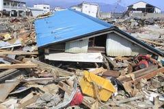 De grote Aardbeving Oost- van Japan Stock Afbeelding