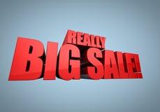 De grote Banner van de Verkoop Stock Illustratie