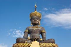 De grote blauwe hemel van Boedha Stock Foto