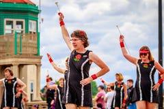 De Grote Bloemenparade 2016 van Portland Royalty-vrije Stock Fotografie