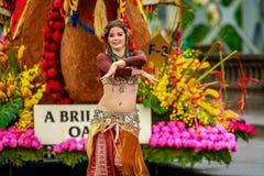 De Grote Bloemenparade 2017 van Portland Stock Foto