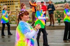De Grote Bloemenparade 2017 van Portland Royalty-vrije Stock Afbeelding