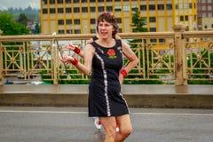 De Grote Bloemenparade 2017 van Portland Royalty-vrije Stock Foto's