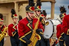 De Grote Bloemenparade 2019 van Portland royalty-vrije stock fotografie