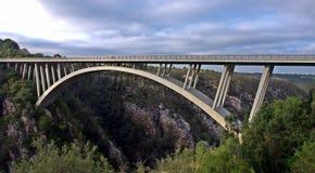 De grote Brug van de Onwerenrivier, Oostelijke Kaap, Zuid-Afrika Stock Fotografie