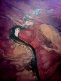 De Grote Canion van de rivier van Colorado Royalty-vrije Stock Foto's
