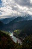 De Grote Canion van Nujiang Royalty-vrije Stock Foto