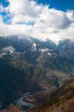 De Grote Canion van Nujiang Stock Foto