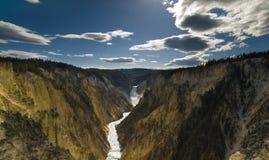 De Grote Canion van Yellowstone Royalty-vrije Stock Foto