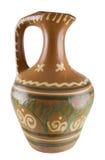 De grote ceramische kruik Stock Afbeelding