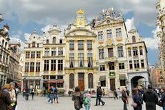 De grote de plaatsbouw van Brussel, Royalty-vrije Stock Fotografie