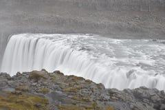 De grote Dettifoss-Waterval in het noordoosten van IJsland royalty-vrije stock foto's
