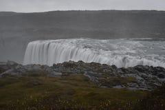 De grote Dettifoss-Waterval in het noordoosten van IJsland royalty-vrije stock foto