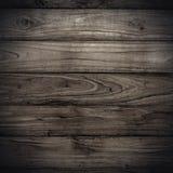 De grote donkere houten textuur van de plankmuur Stock Foto's