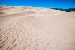 De grote Duinen van het Zand Stock Afbeeldingen