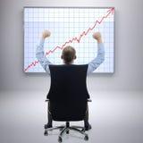 De grote groei Stock Fotografie
