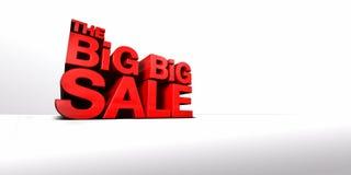 De grote Grote Verkoop Stock Afbeeldingen