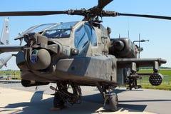De Grote handboog van het Legerboeing ah-64D Apache van de V.S. stock afbeeldingen