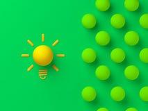 De grote illustratie van het ideeconcept vector illustratie