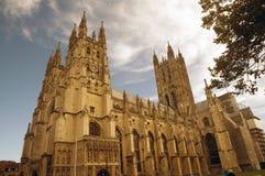 De grote kathedraal Stock Afbeeldingen