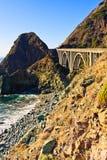 De grote Kust van Sur Californië Stock Afbeeldingen