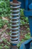 De grote lente voor tractor Stock Foto's