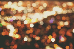 De grote Lichten van de Stad Stock Foto's