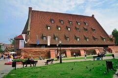 De grote Molen van Gdansk Stock Foto's