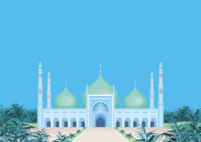 De grote moskee vector illustratie
