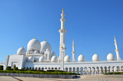 De Grote Moskee Abu Dhabi van Zayed van de sjeik Stock Foto