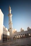 De Grote Moskee Abu Dhabi van Zayed van de sjeik Royalty-vrije Stock Afbeeldingen