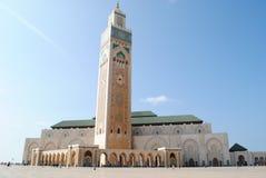 De grote moskee Hasan 2 in Casablanca, Marokko Stock Foto
