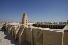 De grote Moskee van Kairouan Royalty-vrije Stock Afbeelding