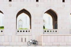 De Grote Moskee van Qaboos van de sultan in Muscateldruif Stock Foto's